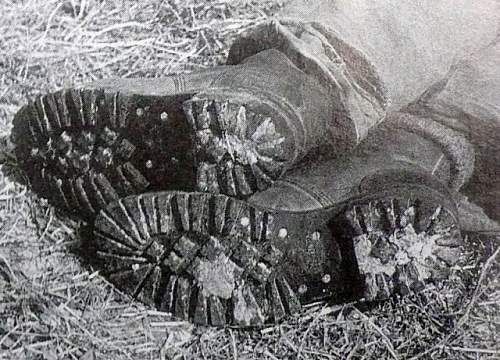Click image for larger version.  Name:WW2 Commando issue boots.jpg Views:271 Size:153.7 KB ID:580186