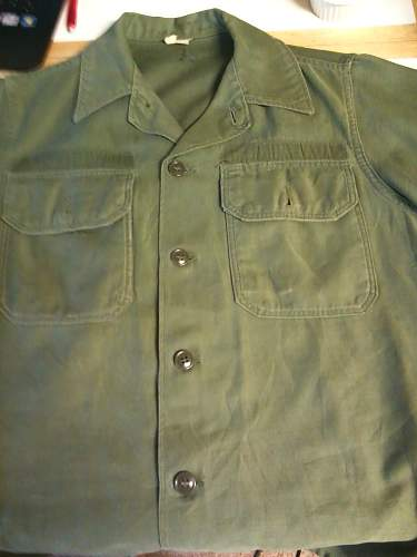 Vietnam war USAF shirt