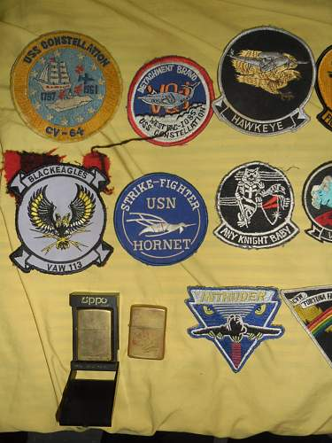 to identify US patch insignia and jacket.