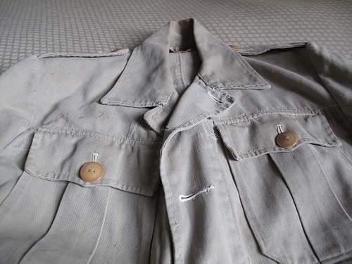 WWII Australian KD battle dress blouse