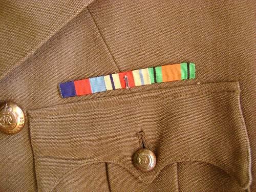 WW2 Royal Engineers tunic.More info