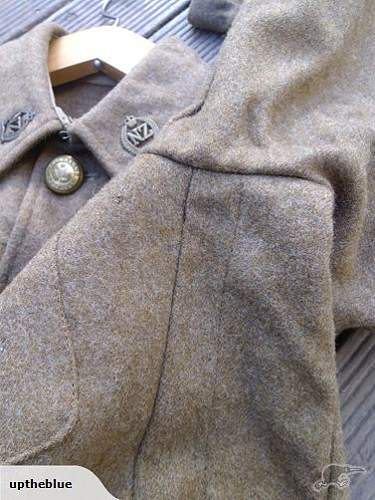 Is this a 1918 pattern WW1 tunic