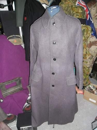 foot guards coat