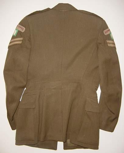 FANY Service Dress jacket & skirt (named)