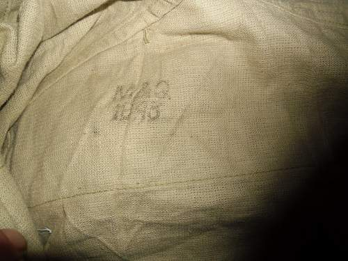 Interesting marks on ww2 KD BD ... company/ military SAMPLE  ????????????