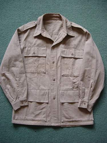 British Khaki Drill jacket: US made