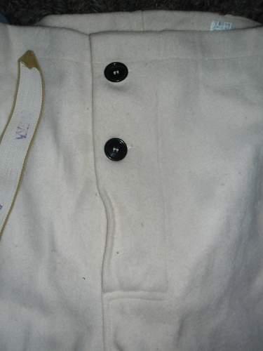 Use for australian white ww2 pants