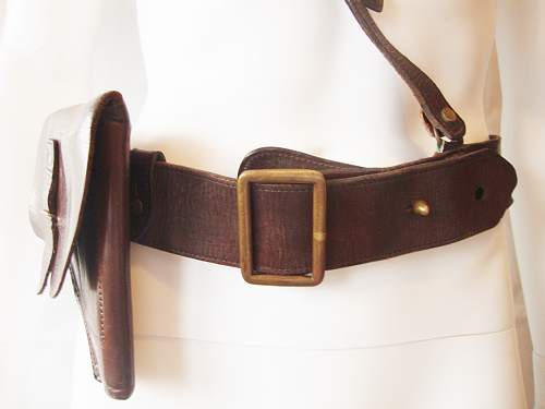 where is this sam browne belt and holster from???