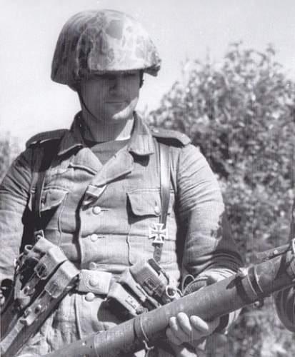 Intersting Photo : Captured SS Soldat Wearing U.S. Army