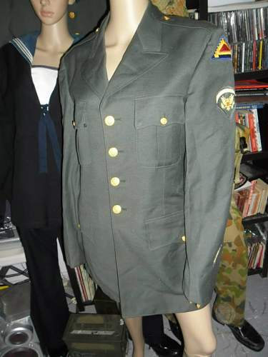 trying to date US officers jacket