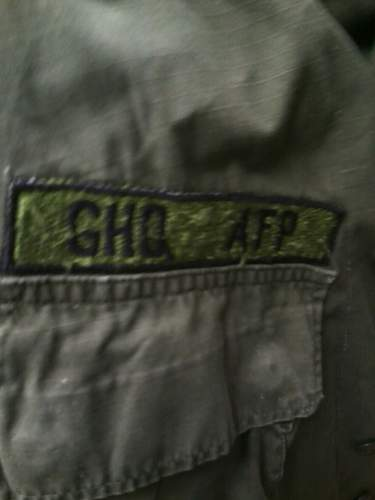 Unusual jungle jacket