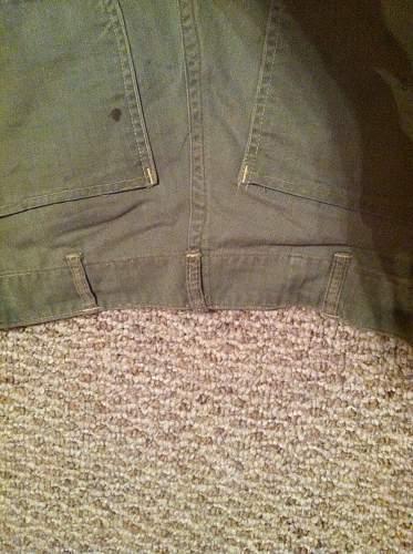Usmc hbt and usaac od shirt