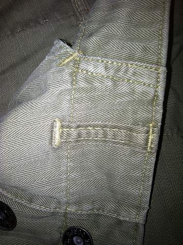 Help with usmc trousers