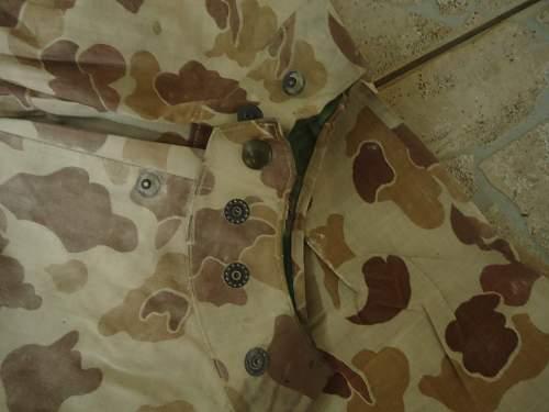 USMC '44 2side poncho!!