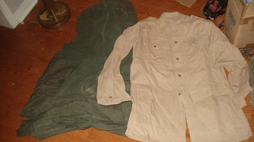 Surrey Yoemanry QMR Officers kit and Truck, Canadain Made BD