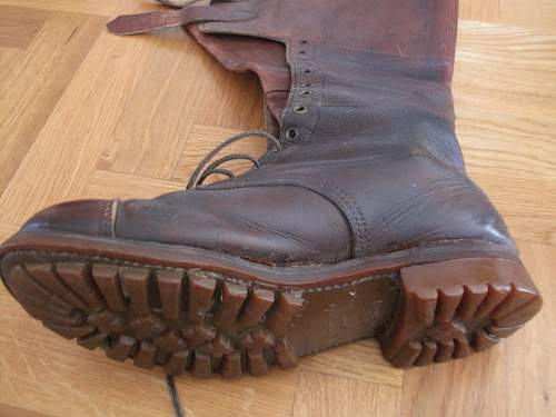 South African Officer's or Despatch Riders' boots