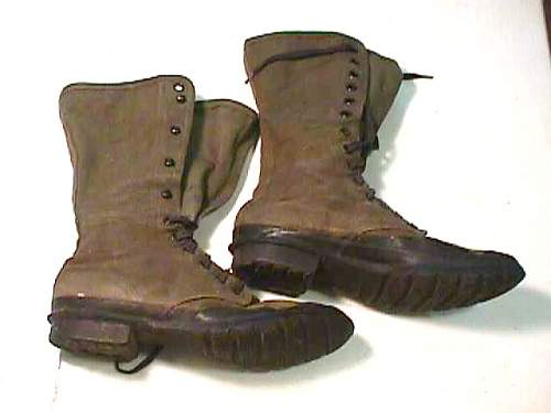 Possible New Guinea boots