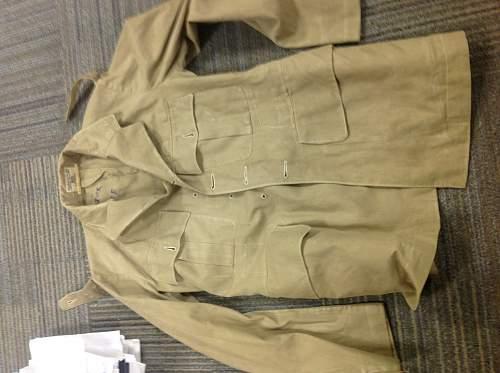 Officer's KD service dress jacket