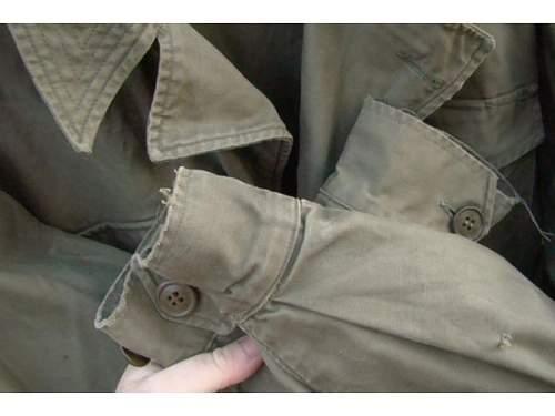 U.S M43 jacket or European variant?