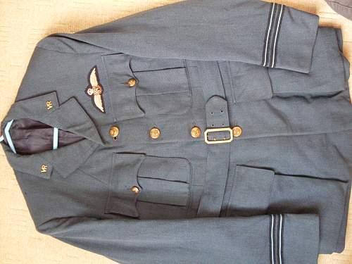RAF Flt Lt Tunic
