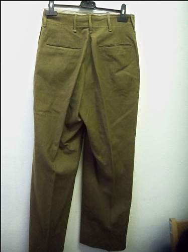 What do you think about these trousers?