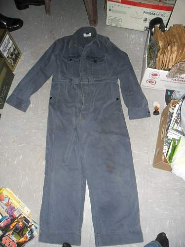 military overalls ???