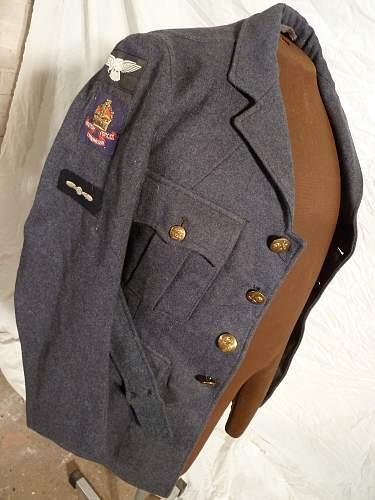 B.C.O.F RAF Tunic
