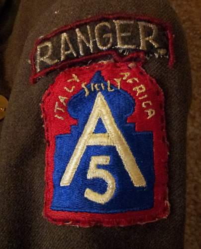 US WW2 Ranger Coat