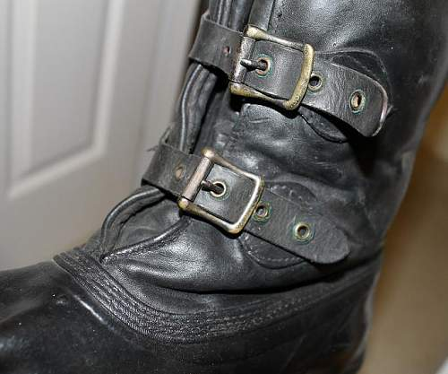 Latest find -Flight Boots
