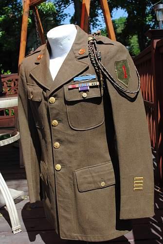 WW2  US 1st Inf Div Jacket