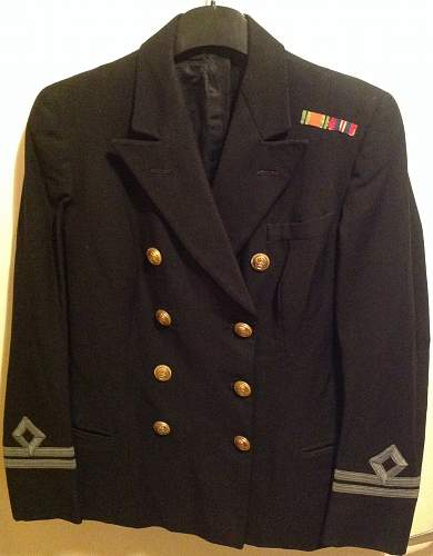 WRNS Officer's Jacket