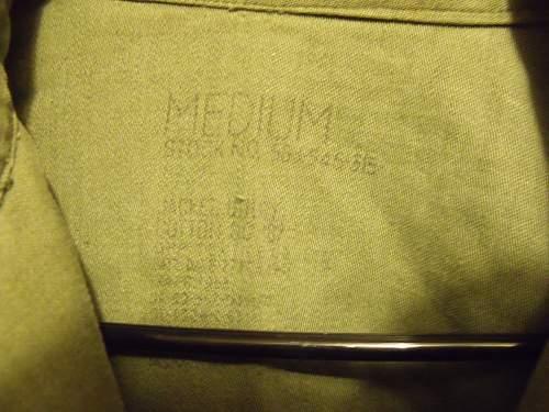 U.S. National Guard field jacket