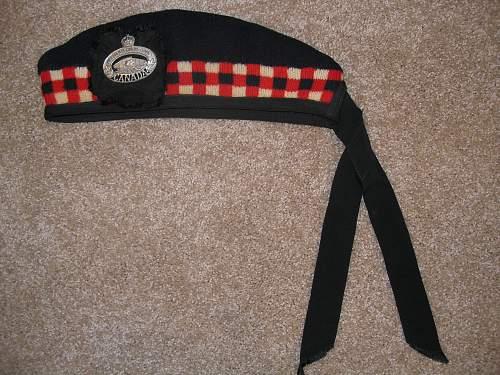 "Grandfather's WWII Canadian Uniform ""The Essex Regiment (Tank)"""
