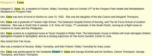Click image for larger version.  Name:Margaret C Cass Obit (retracted).jpg Views:140 Size:115.8 KB ID:701514