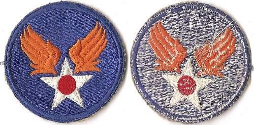 Wife & Husband WWII Grouping - ANC Flight Nurse & 15th AAF