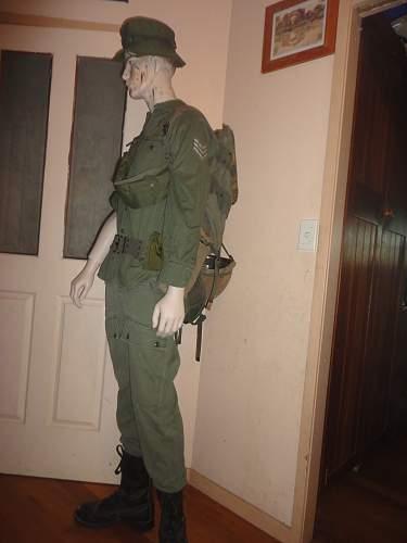 Vietnam War Australian Soldier Display