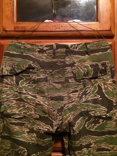 Vietnam Late War Tiger Stripe Trousers
