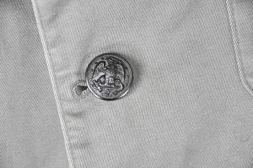 US Navy slate gray jacket