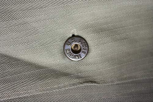 Original or Repro P41 HBT USMC jacket?