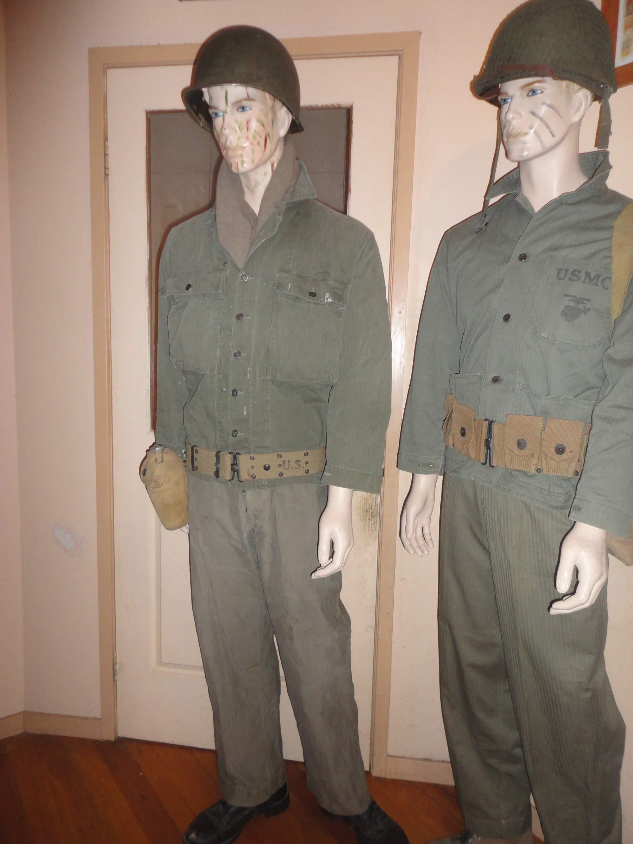 us wwii utility uniform