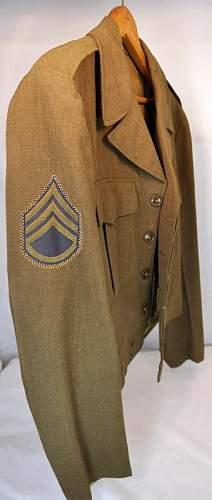 Ike Jacket: Trieste-88th div.