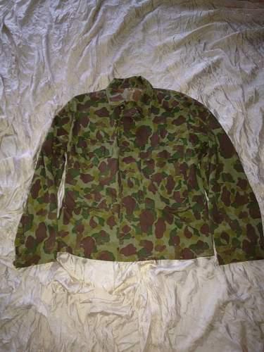 WWII U.S. Army Jungle Camo Jacket