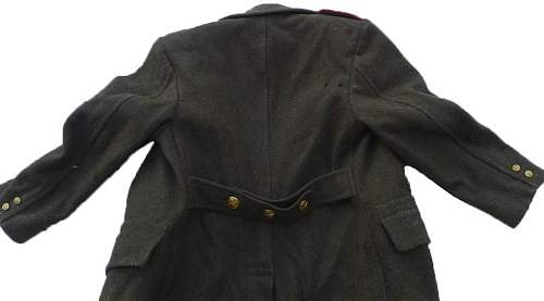 Identification of Commonweath greatcoat - Czechoslovakian private modification