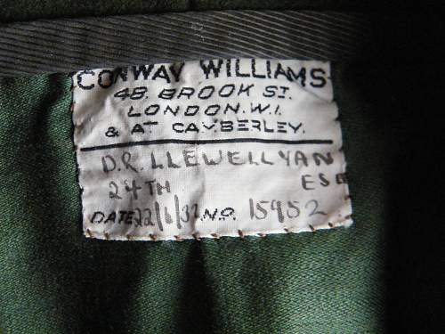 Click image for larger version.  Name:SWB mess jacket label.jpg Views:31 Size:220.1 KB ID:726647