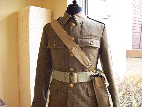 British Recconaisance Corps Officers Austerity pattern service dress jacket.