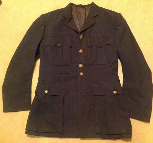 RAF Officer's Service Dress