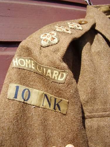 Home Guard Captain's jacket review