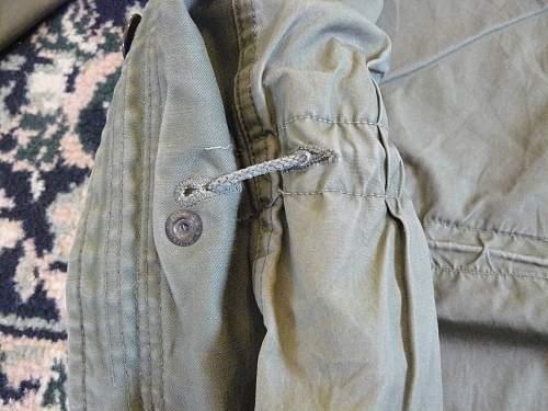 Early US M-65 Field Jacket ?