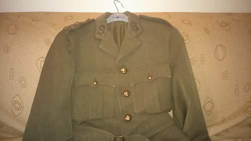 1939 British SD RA tunic