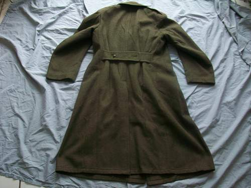 WWII French or Belgian Overcoat?